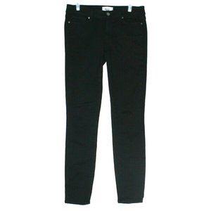 Paige Womens Verdugo Ultra Skinny Black Jeans 27